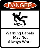 Warning Labels May Not Always Work